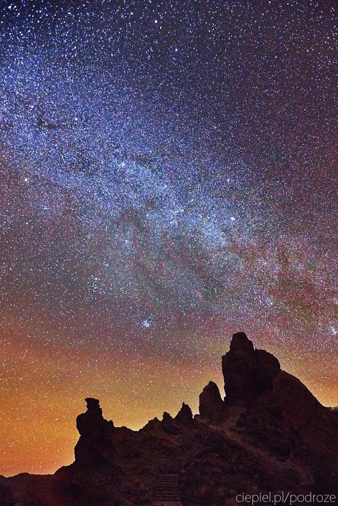 gwiazdy Teide, bliskie spotkanie z wulkanem.
