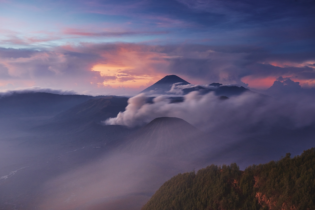indonezja 0390 W krainie wulkanów