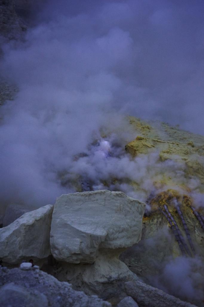 indonezja 0503 W siarkowym piekle   Wulkan Ijen
