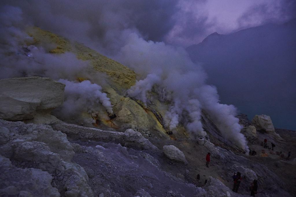 indonezja 0504 W siarkowym piekle   Wulkan Ijen
