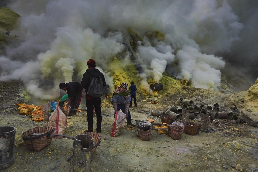 indonezja 0507 W siarkowym piekle   Wulkan Ijen