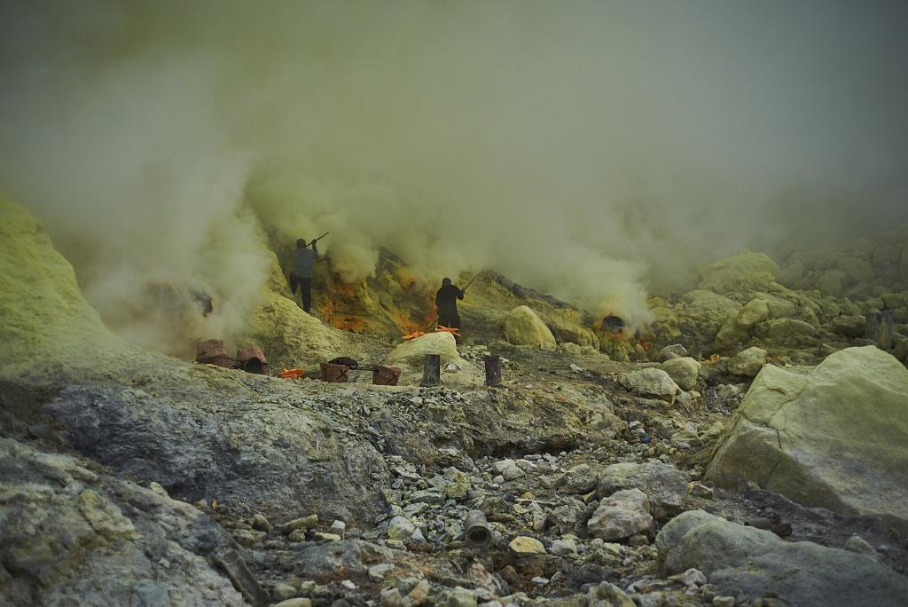 indonezja 0518 W siarkowym piekle   Wulkan Ijen