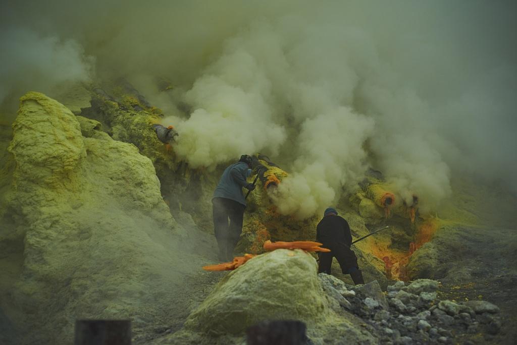 indonezja 0520 W siarkowym piekle   Wulkan Ijen