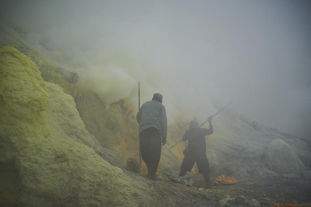 indonezja 0523 W siarkowym piekle   Wulkan Ijen