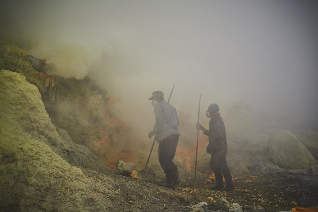 indonezja 0524 W siarkowym piekle   Wulkan Ijen