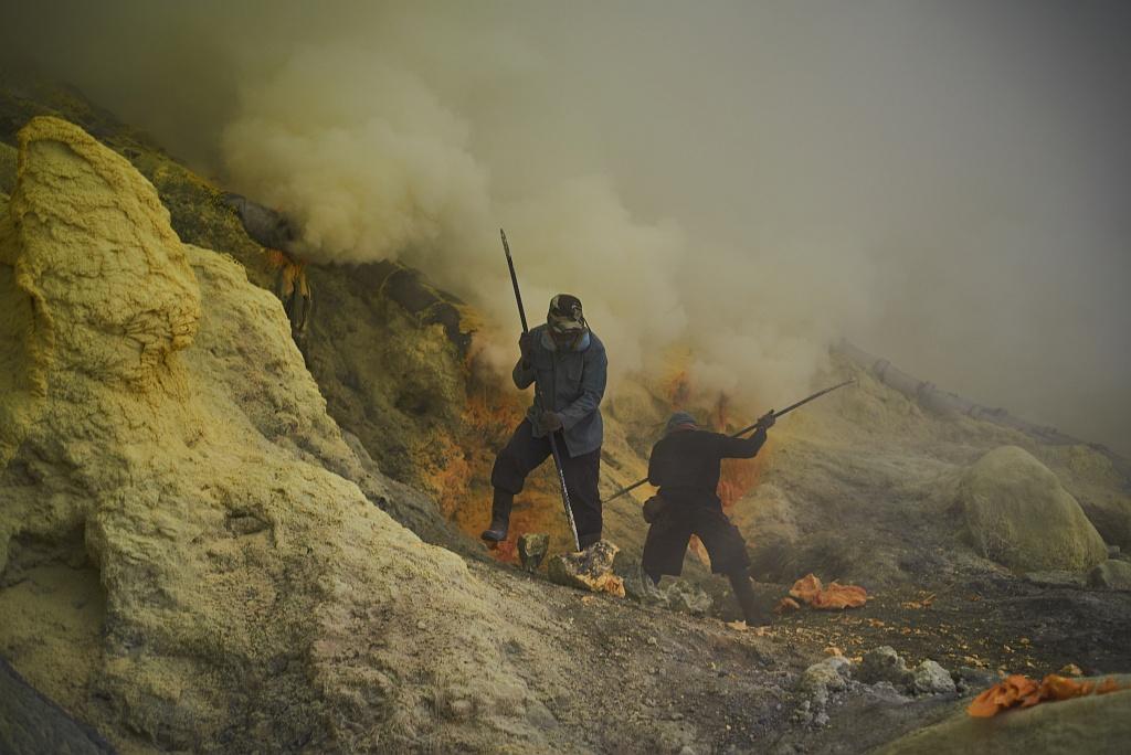 indonezja 0525 W siarkowym piekle   Wulkan Ijen