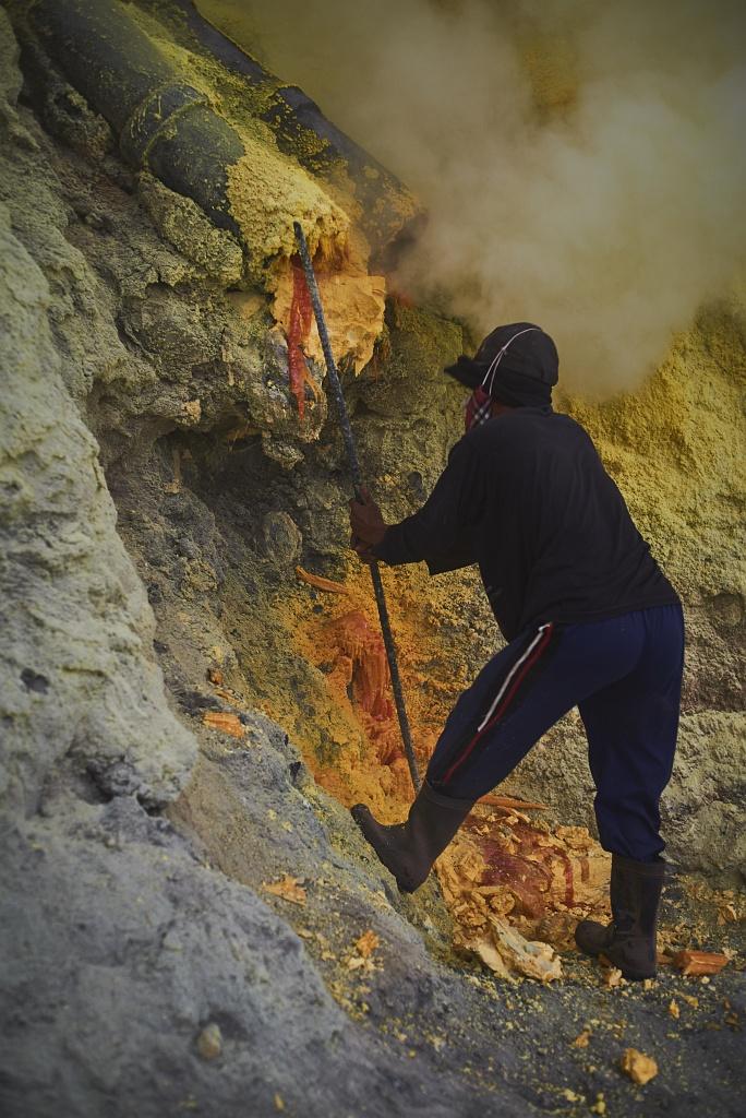 indonezja 0530 W siarkowym piekle   Wulkan Ijen