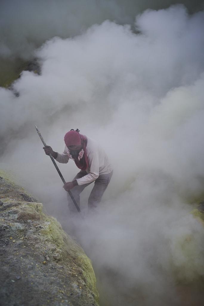 indonezja 0534 W siarkowym piekle   Wulkan Ijen
