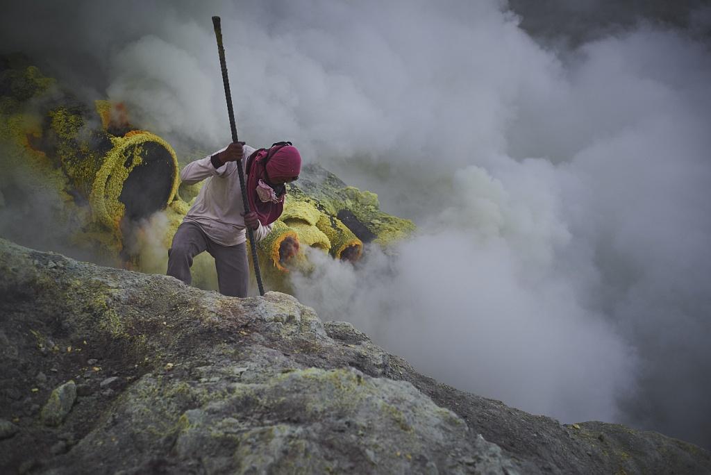 indonezja 0536 W siarkowym piekle   Wulkan Ijen