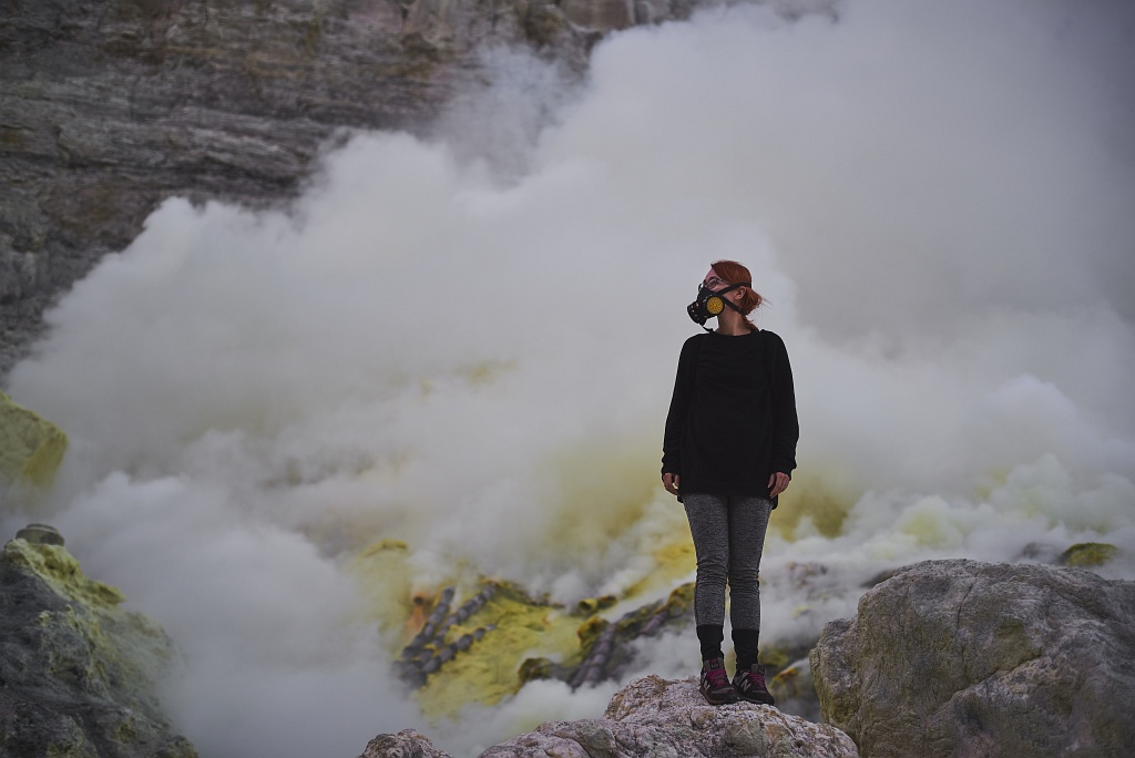 indonezja 0539 W siarkowym piekle   Wulkan Ijen