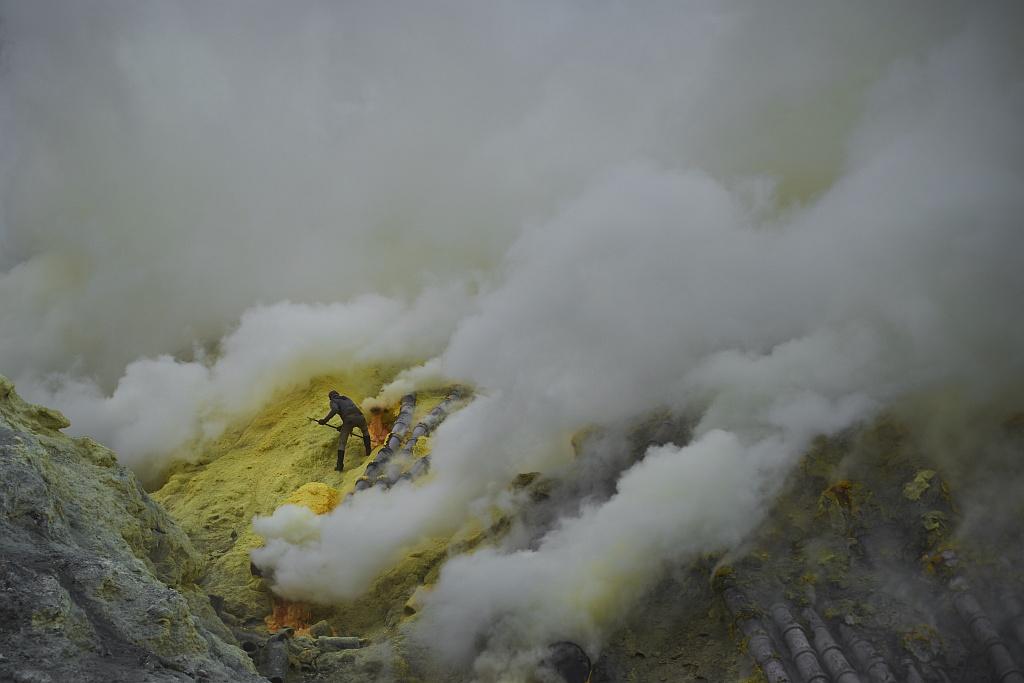 indonezja 0546 W siarkowym piekle   Wulkan Ijen
