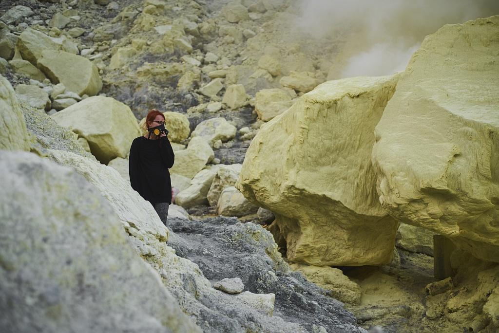 indonezja 0547 W siarkowym piekle   Wulkan Ijen
