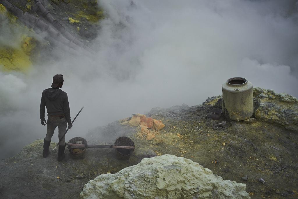 indonezja 0548 W siarkowym piekle   Wulkan Ijen
