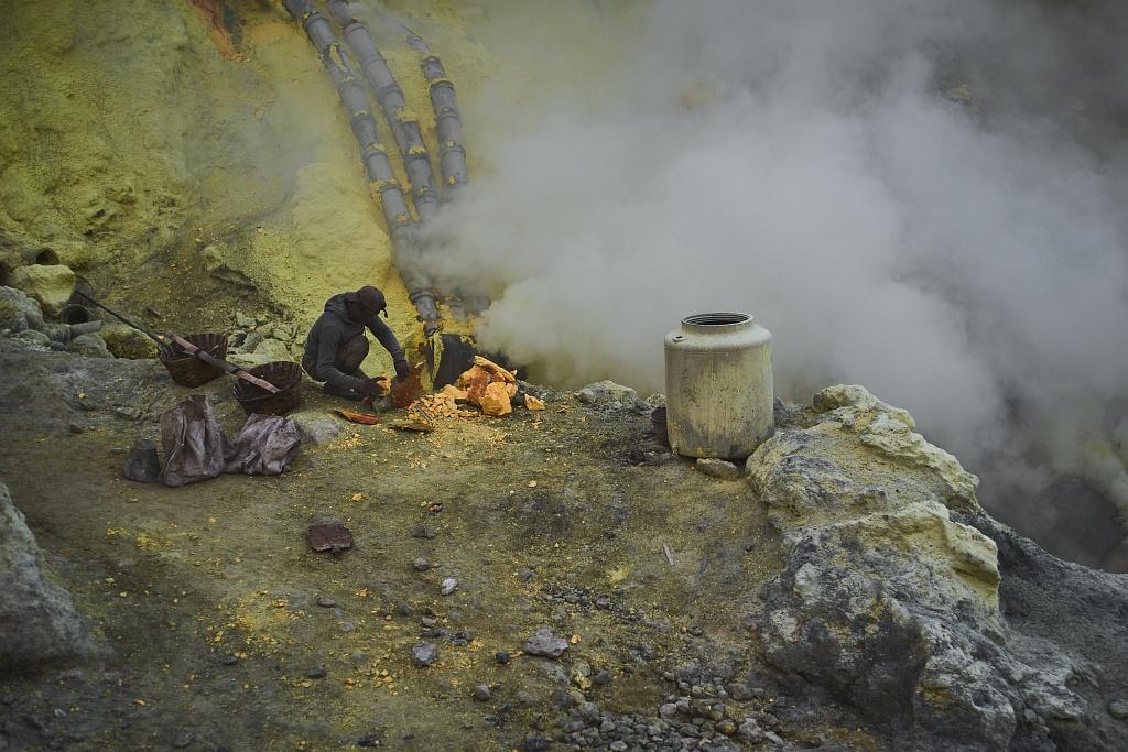 indonezja 0549 W siarkowym piekle   Wulkan Ijen