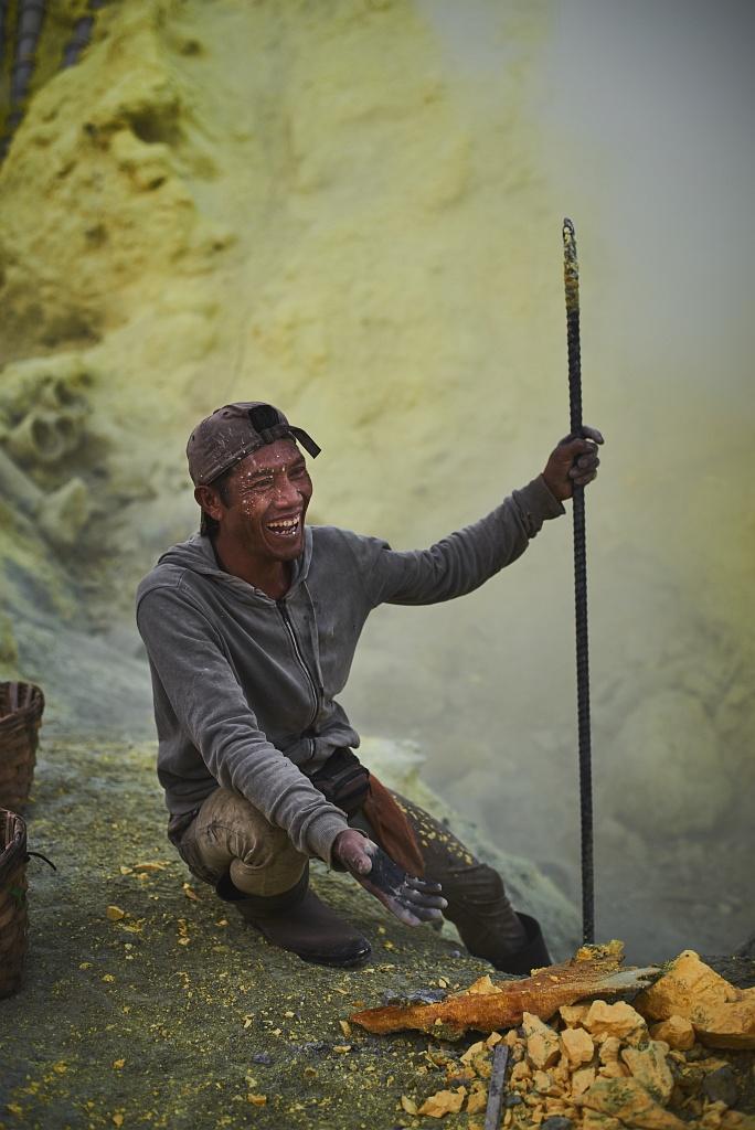 indonezja 0552 W siarkowym piekle   Wulkan Ijen