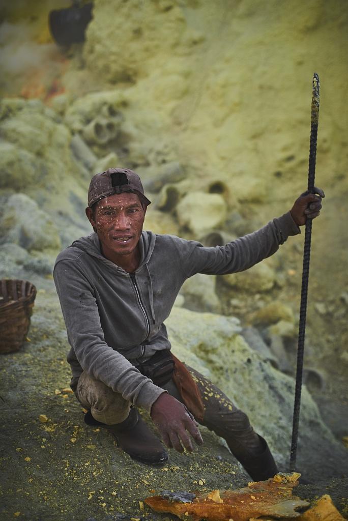 indonezja 0553 W siarkowym piekle   Wulkan Ijen