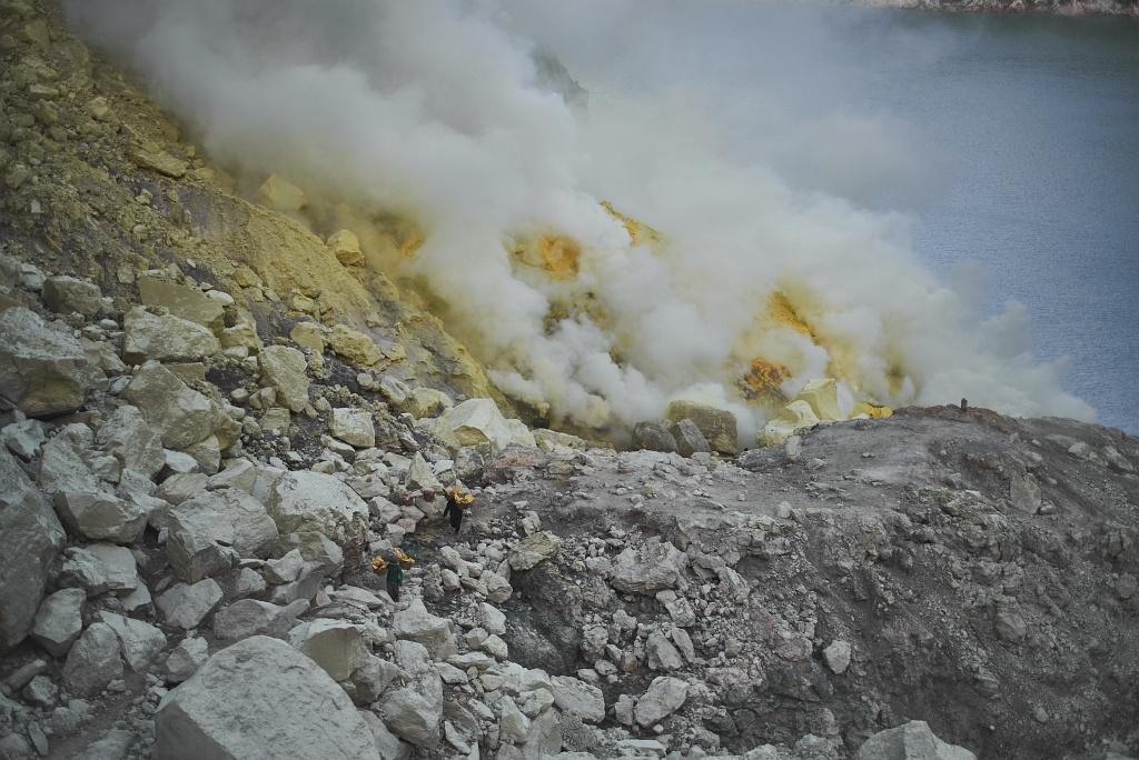 indonezja 0560 W siarkowym piekle   Wulkan Ijen