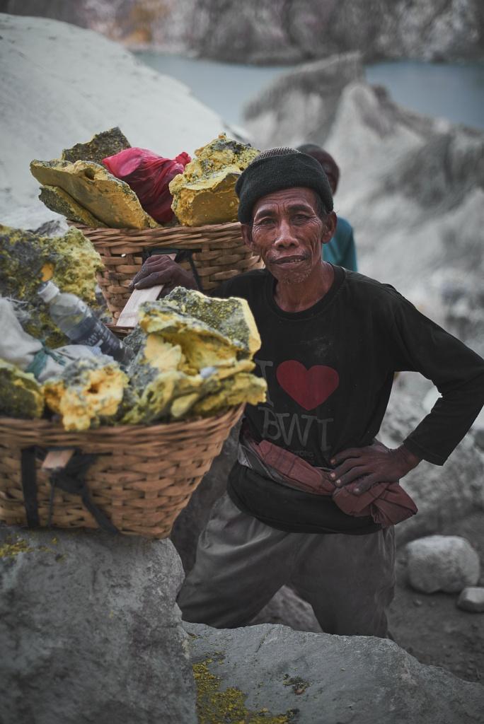 indonezja 0562 W siarkowym piekle   Wulkan Ijen