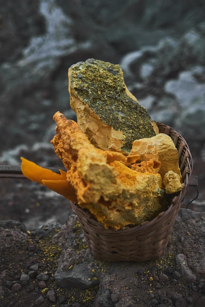 indonezja 0594 W siarkowym piekle   Wulkan Ijen