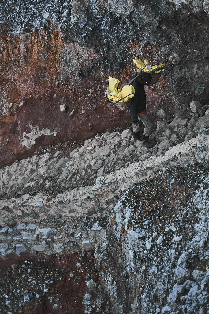 indonezja 0602 W siarkowym piekle   Wulkan Ijen