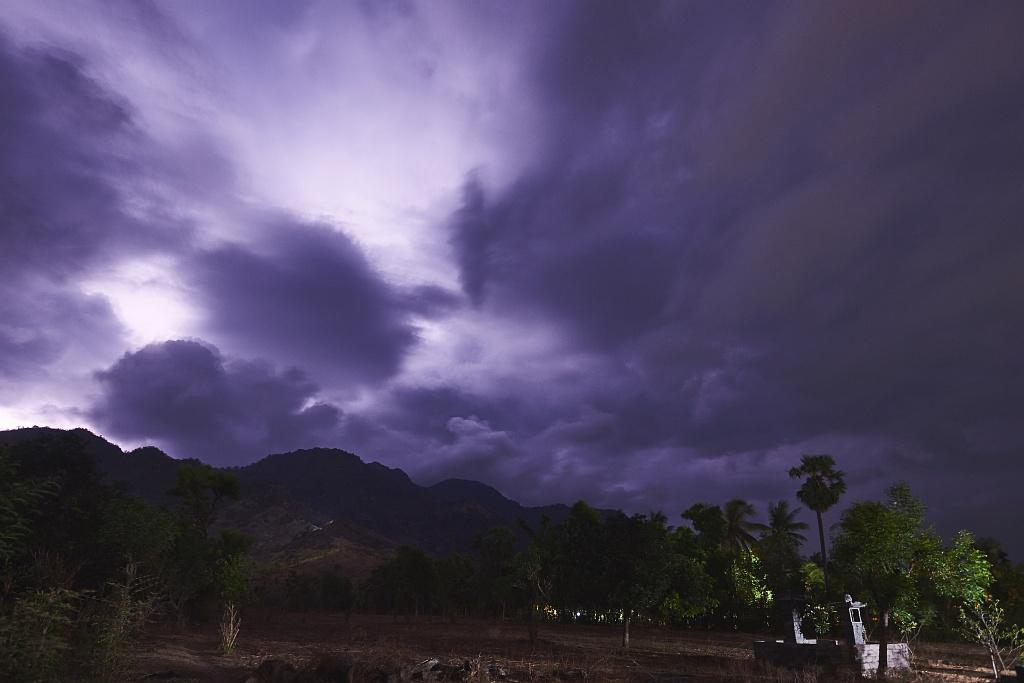 indonezja 0653 Pemuteran, cicha wioska na wyspie Bali