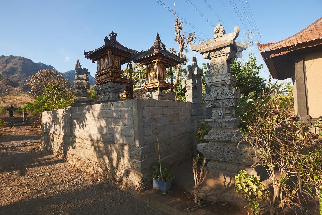 indonezja 0918 Pemuteran, cicha wioska na wyspie Bali