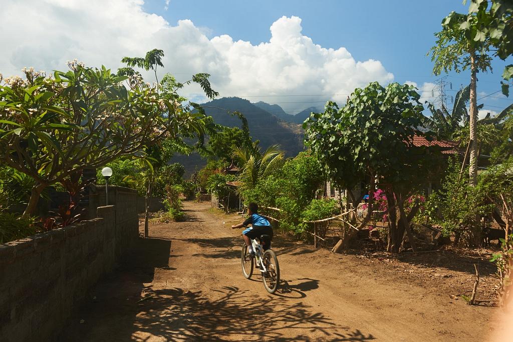 indonezja 0945 Pemuteran, cicha wioska na wyspie Bali