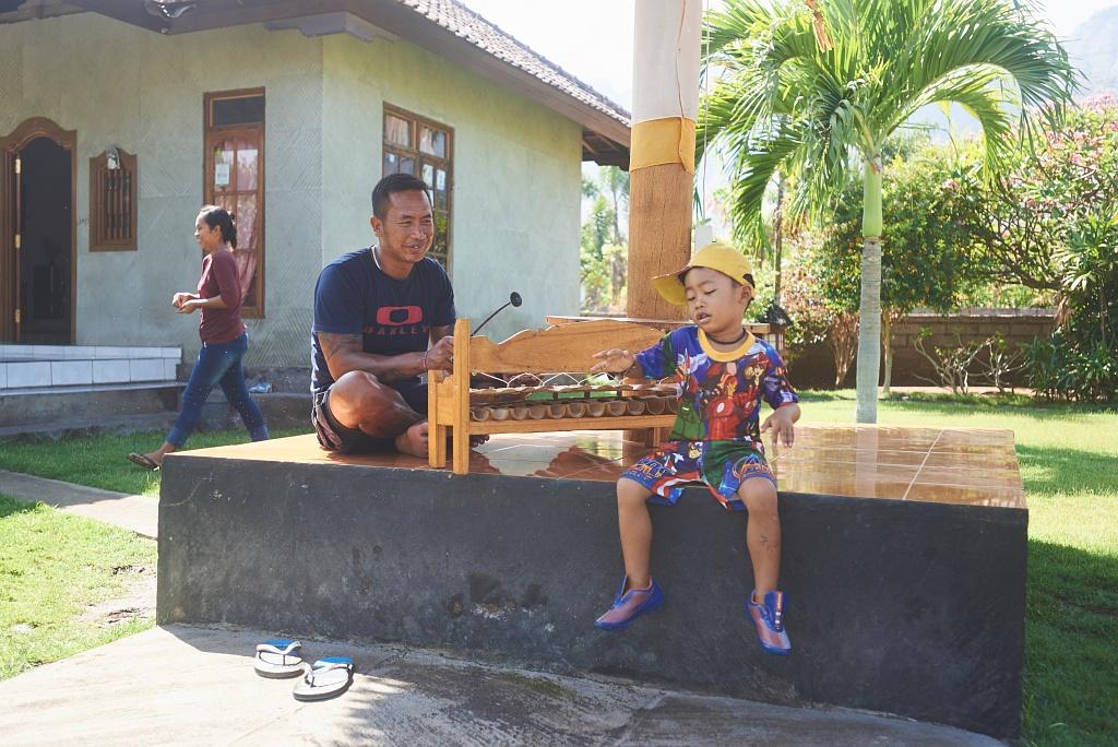 indonezja 0952 Pemuteran, cicha wioska na wyspie Bali