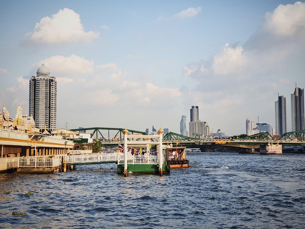 bangkok co zobaczyc menam002 Bangkok    rzeka, kanały i tereny zielone