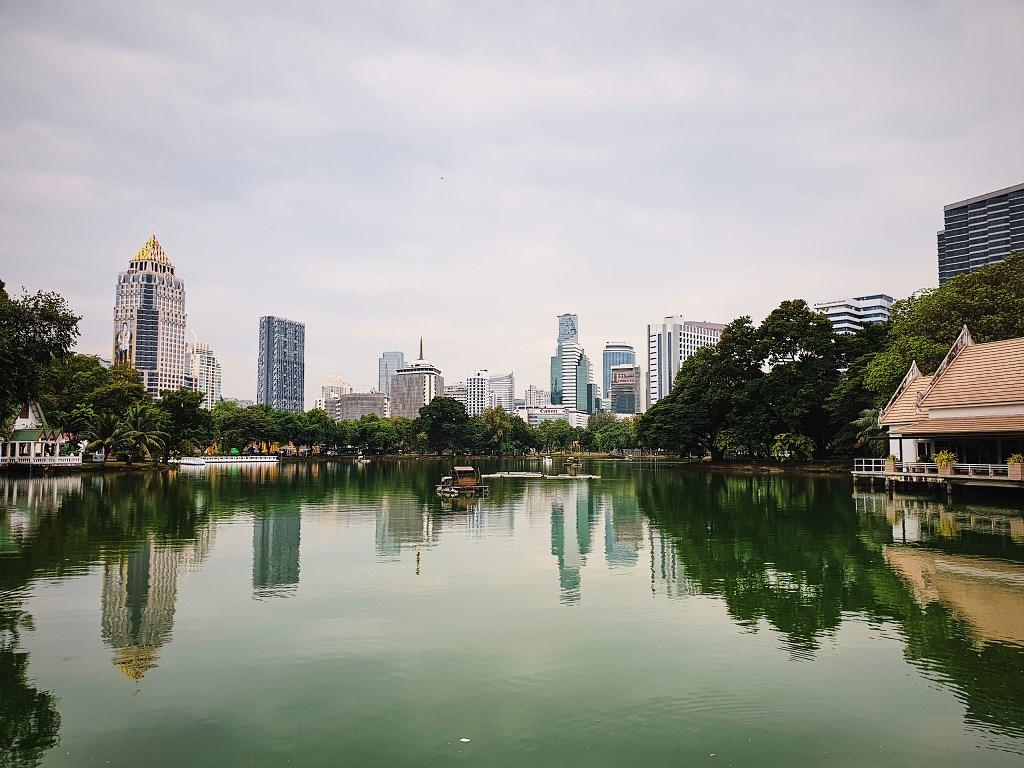 bangkok co zobaczyc menam015 Bangkok    rzeka, kanały i tereny zielone