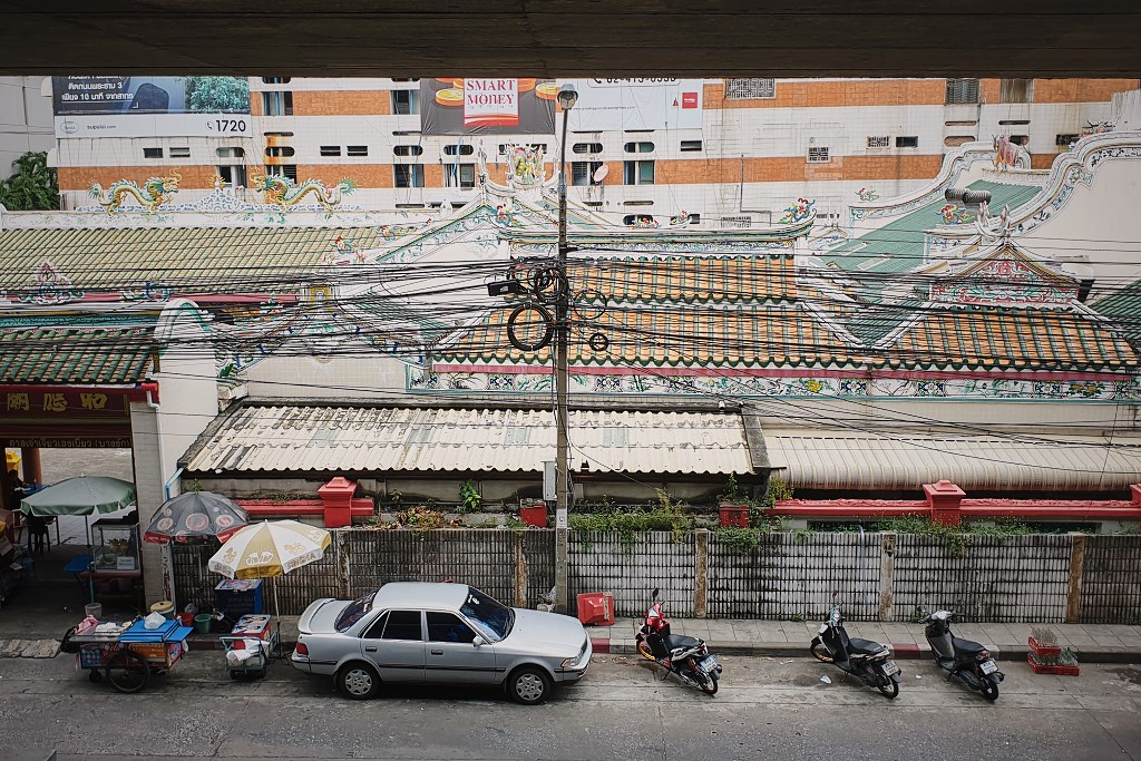 bangkok co zobaczyc menam020 Bangkok    rzeka, kanały i tereny zielone