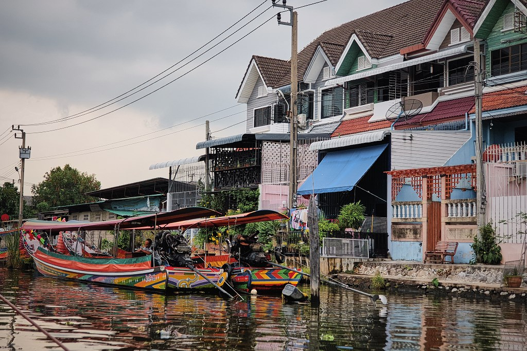 bangkok co zobaczyc menam037 Bangkok    rzeka, kanały i tereny zielone
