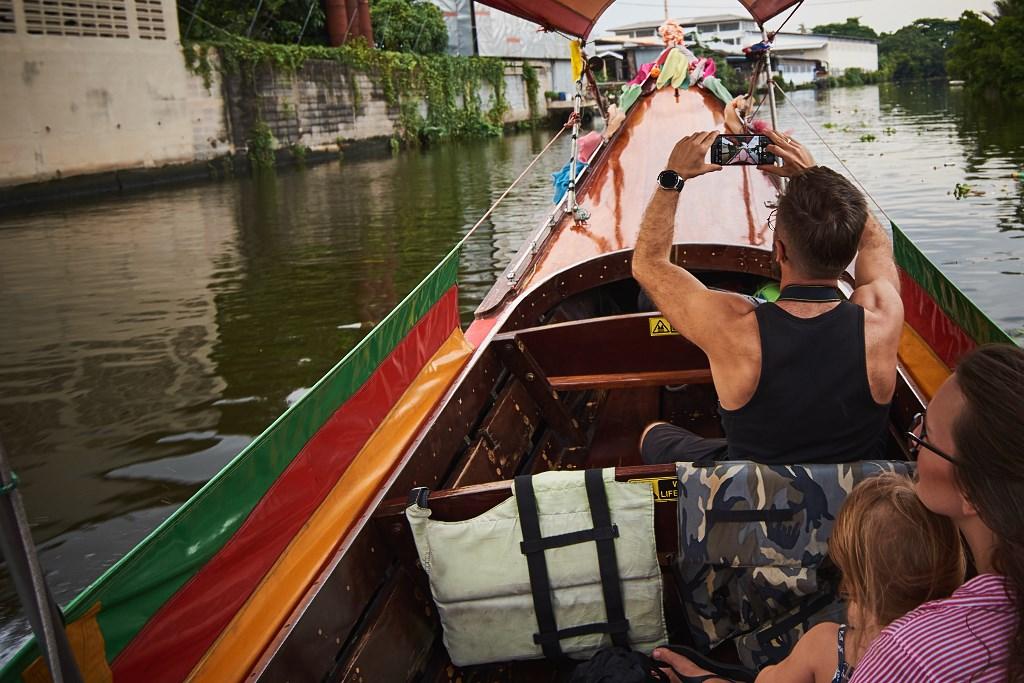bangkok co zobaczyc menam038 Bangkok    rzeka, kanały i tereny zielone