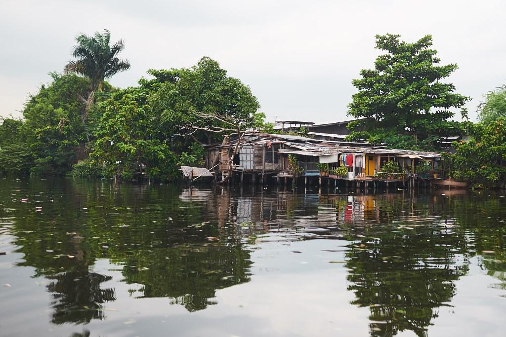 bangkok co zobaczyc menam041 Bangkok    rzeka, kanały i tereny zielone