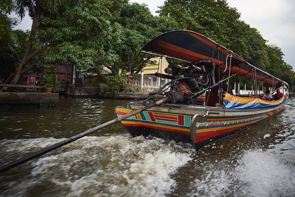 bangkok co zobaczyc menam043 Bangkok    rzeka, kanały i tereny zielone