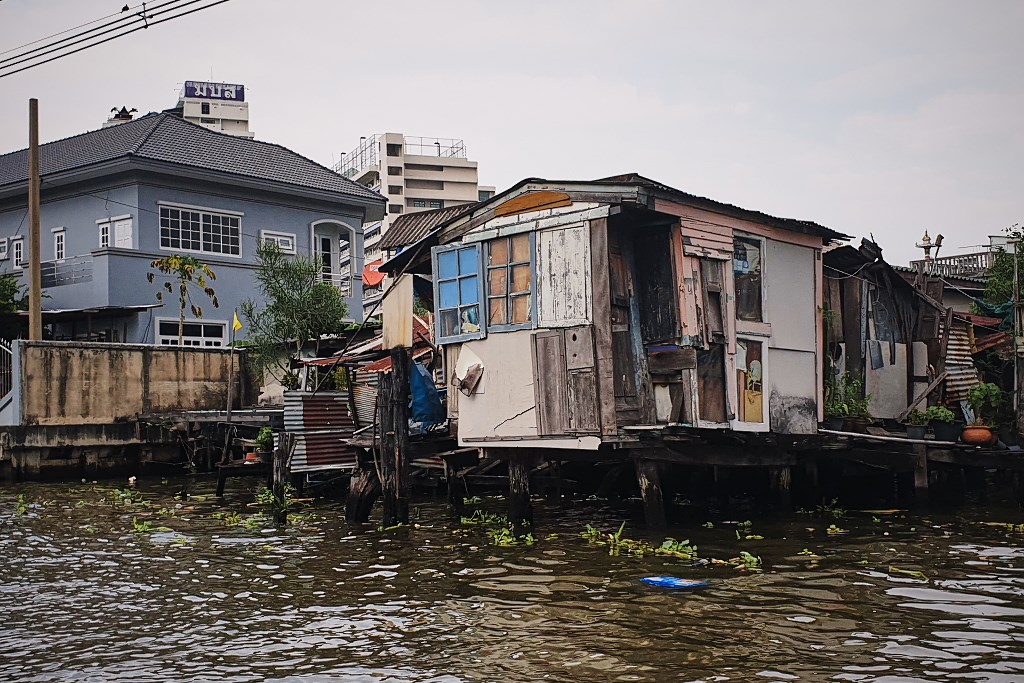 bangkok co zobaczyc menam050 Bangkok    rzeka, kanały i tereny zielone