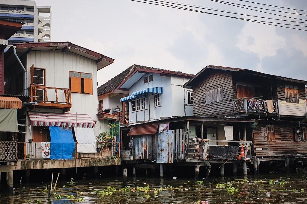 bangkok co zobaczyc menam051 Bangkok    rzeka, kanały i tereny zielone