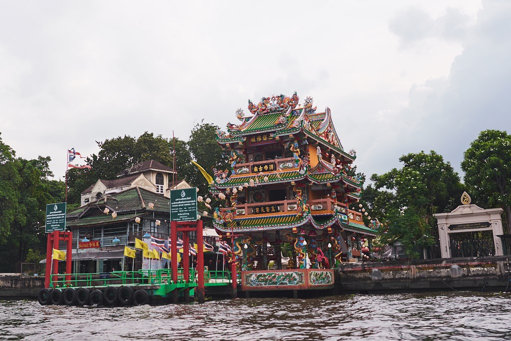 bangkok co zobaczyc menam054 Bangkok    rzeka, kanały i tereny zielone