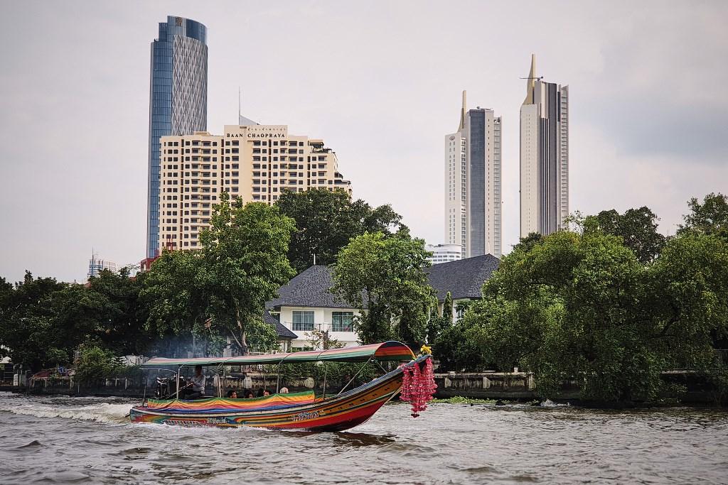 bangkok co zobaczyc menam055 Bangkok    rzeka, kanały i tereny zielone