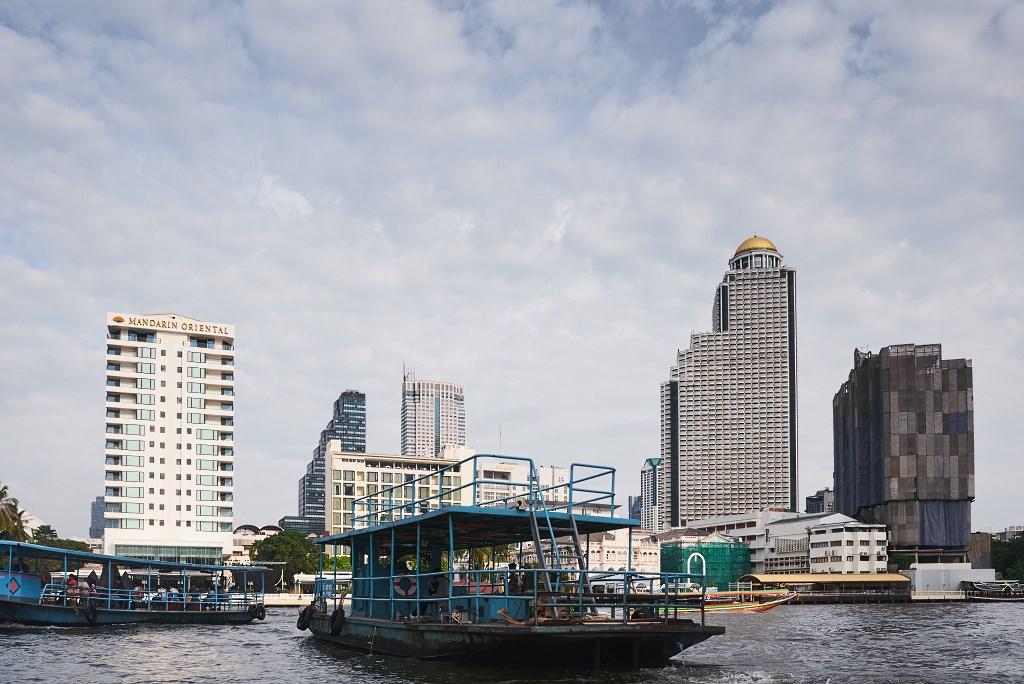 bangkok co zobaczyc menam059 Bangkok    rzeka, kanały i tereny zielone