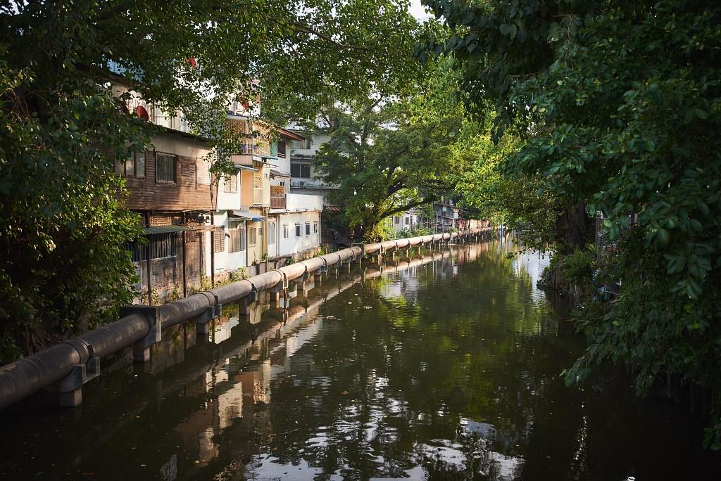 bangkok co zobaczyc menam063 Bangkok    rzeka, kanały i tereny zielone