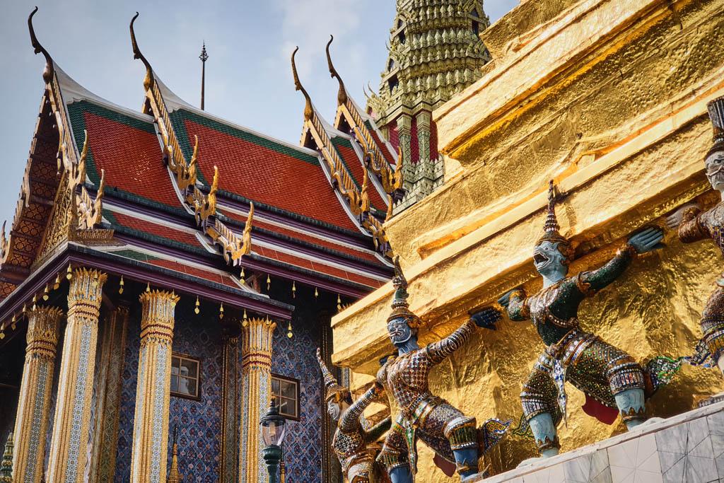tajlandia bangkok palac 001387 Bangkok   Wielki Pałac