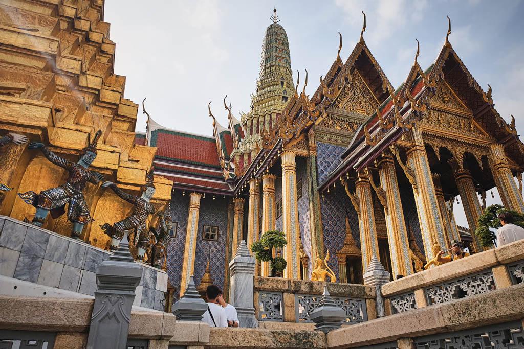 tajlandia bangkok palac 001388 Bangkok   Wielki Pałac