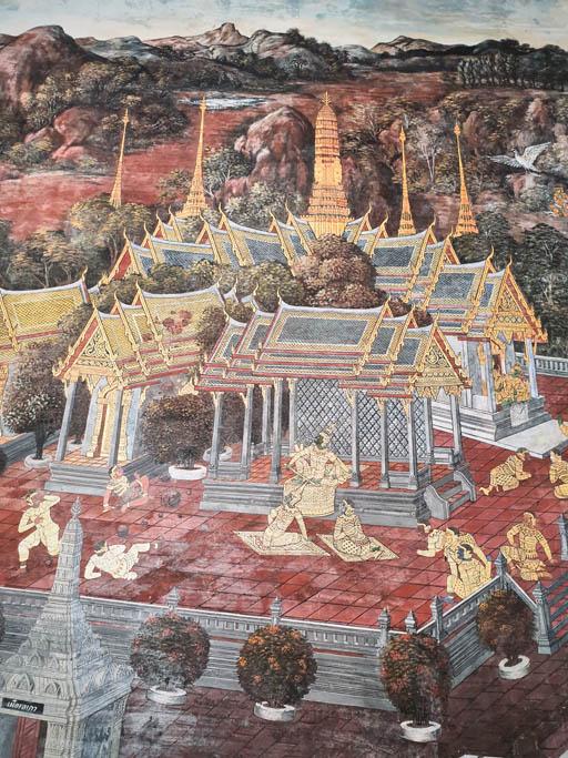 tajlandia bangkok palac 001390 Bangkok   Wielki Pałac