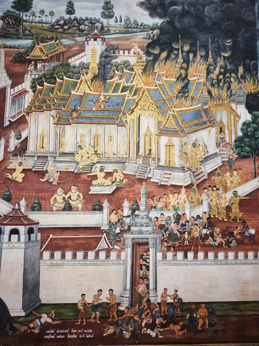 tajlandia bangkok palac 001391 Bangkok   Wielki Pałac
